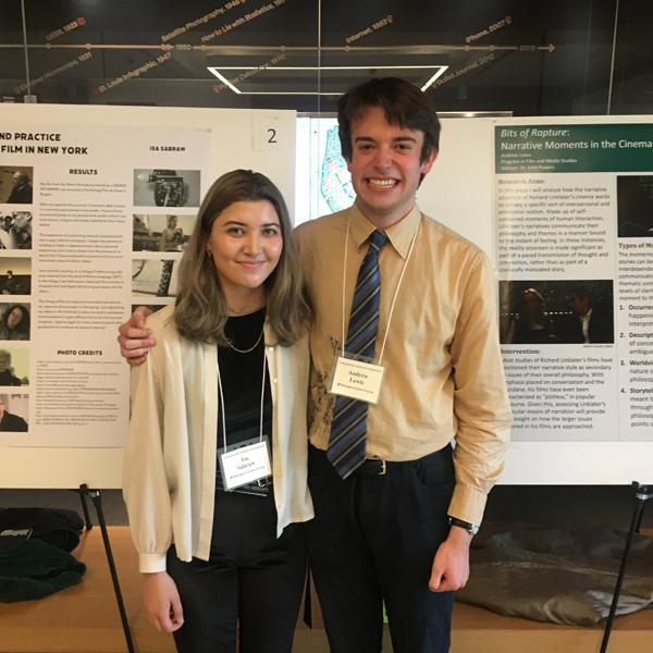 Film & Media Studies students present at Undergraduate Research Symposium